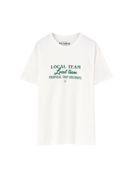 White Local Team T-shirt