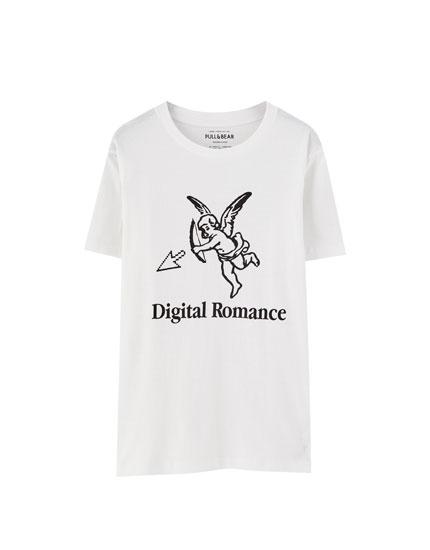 Camiseta Cupido manga corta