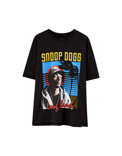 Short sleeve Snoop Dogg T-shirt