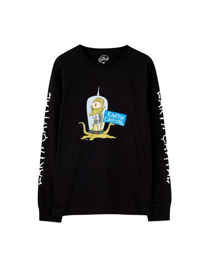 Camiseta Los Simpson manga larga