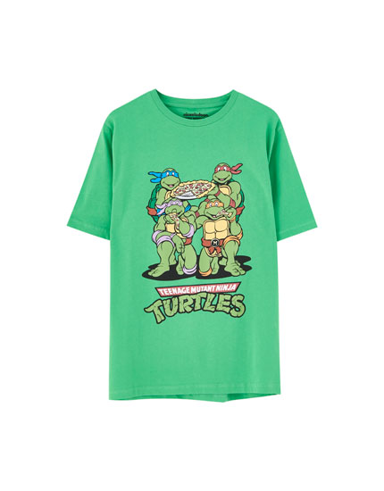 Grünes Shirt Ninja Turtles