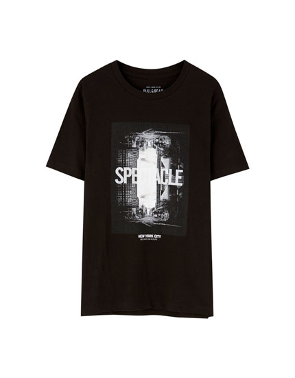 Black Spectacle T-shirt