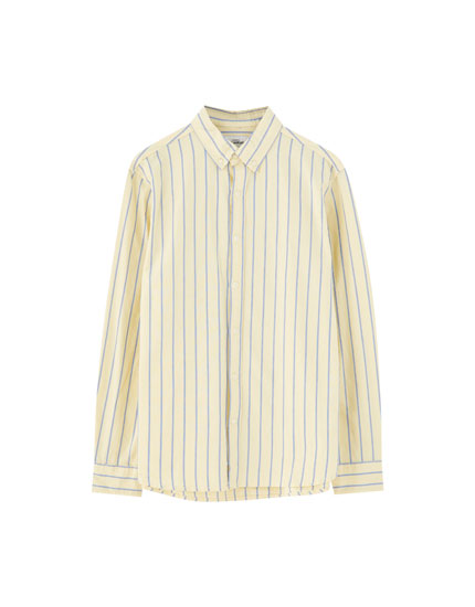 Basic striped Oxford shirt