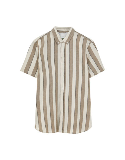 Join Life striped shirt