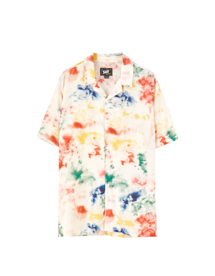 Camisa tie-dye colores