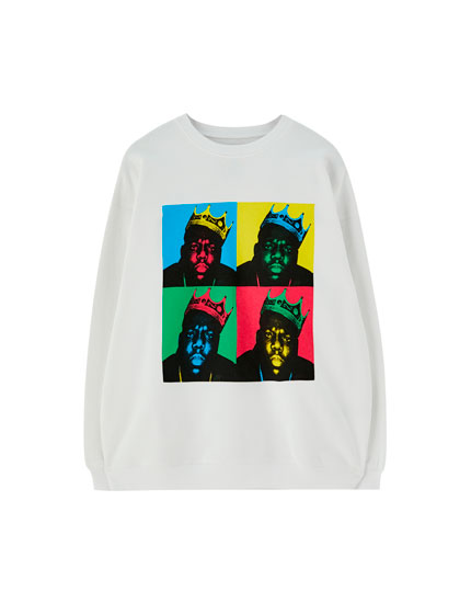 Oversized Biggie sweatshirt
