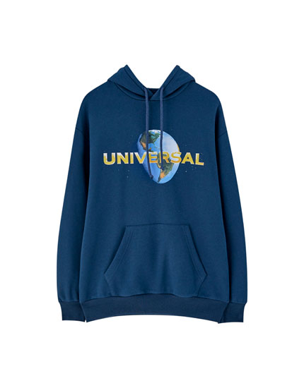 Sudadera Universal Studios capucha