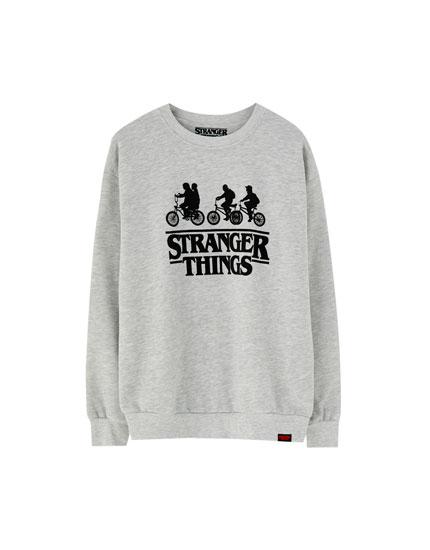 Stranger Things bikes hoodie