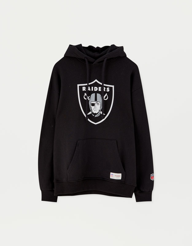 6744c9d9ec01f Sudadera Raiders NFL - PULL BEAR