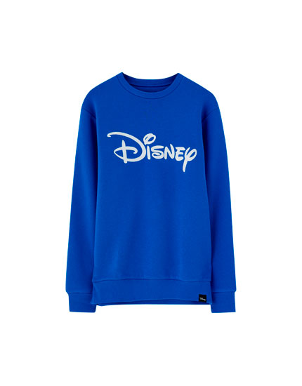 Mickey Mouse sweatshirt with embroidered logo