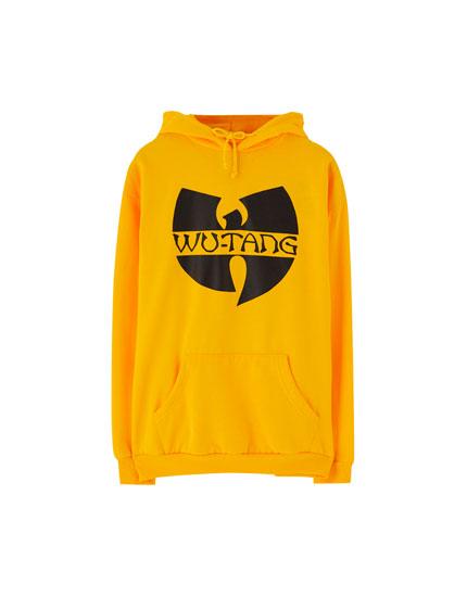 Yellow Wu-Tang Clan hoodie