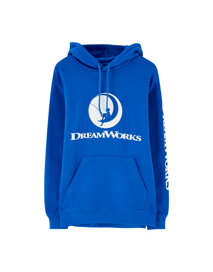 Blue Dreamworks sweatshirt
