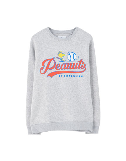 Grey Peanuts sweatshirt