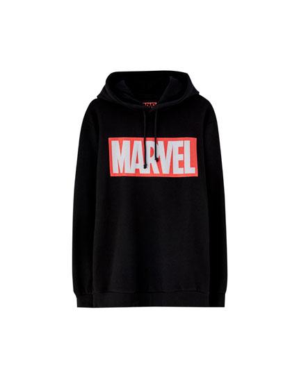 Black Marvel hoodie