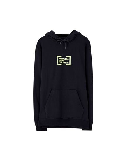 Primavera Sound x Pull&Bear hoodie
