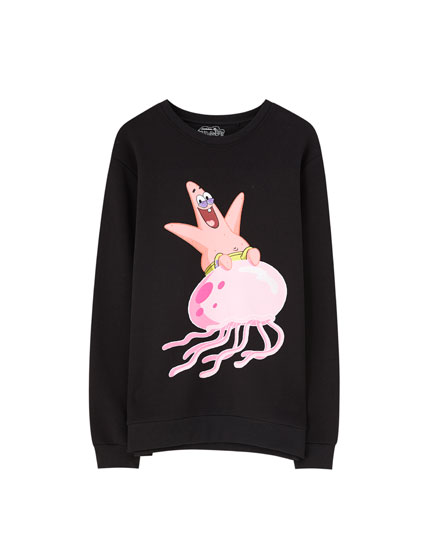 Sweatshirt with SpongeBob design