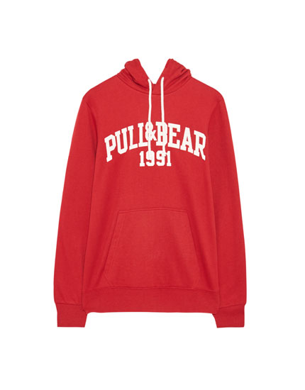 Džemperis ar PULL&BEAR logotipu
