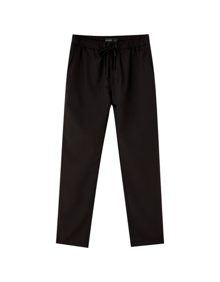 Tailored beach trousers