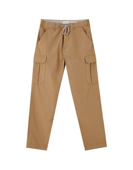 Finn Wolfhard cargo trousers