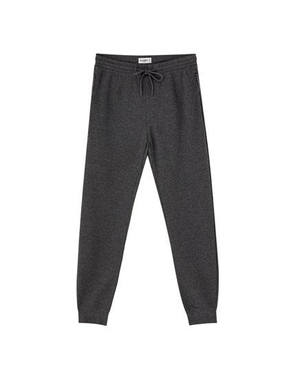 Pantalón jogging básico colores