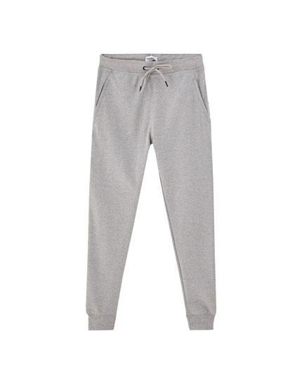 Pantalon jogging bande latérale