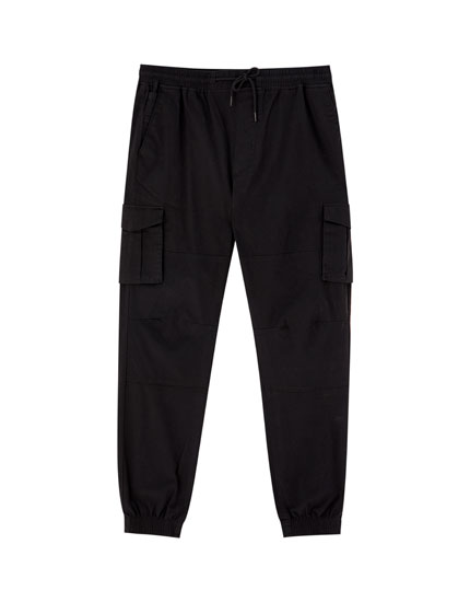 Pantalon de jogging cargo uni