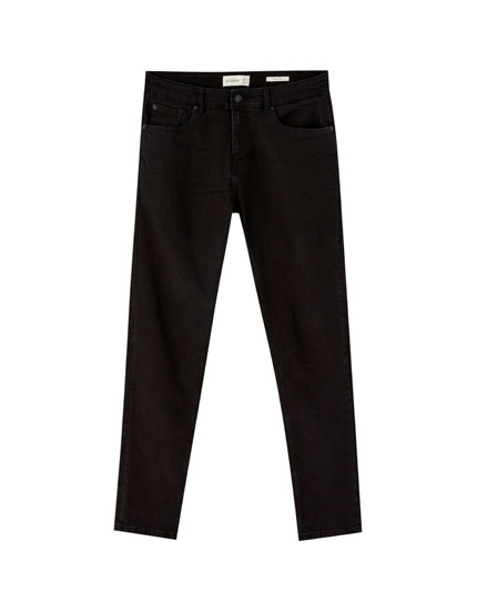 Jeans skinny fit negros