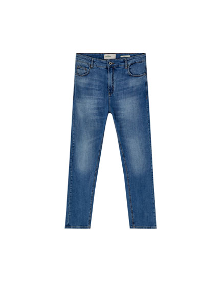 Hombre amp;bear Jeans España Fit Ropa Pull Carrot qna6t