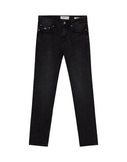 Slim fit comfort washed jeans