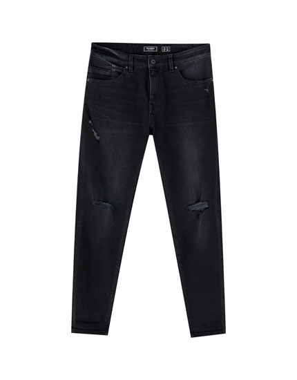 Ripped premium skinny fit jeans