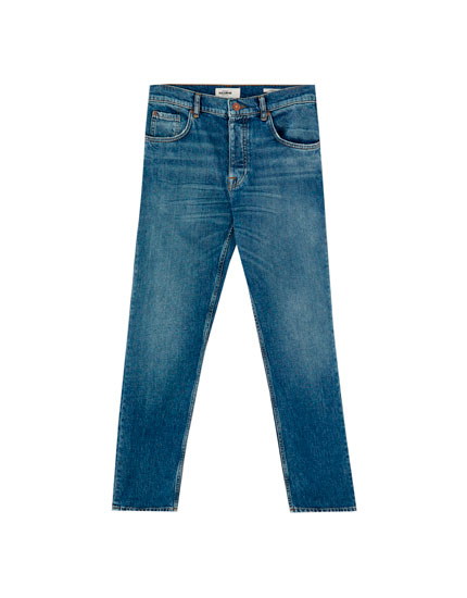 Vintage slim fit carrot fit jeans