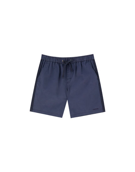 Join Life Bermuda shorts with side stripe