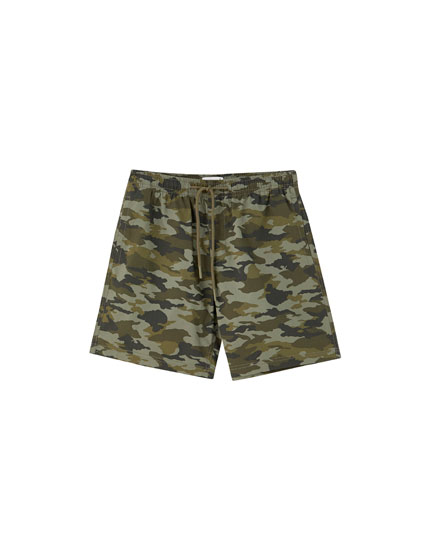 Patch pocket Bermudas in a range of colours
