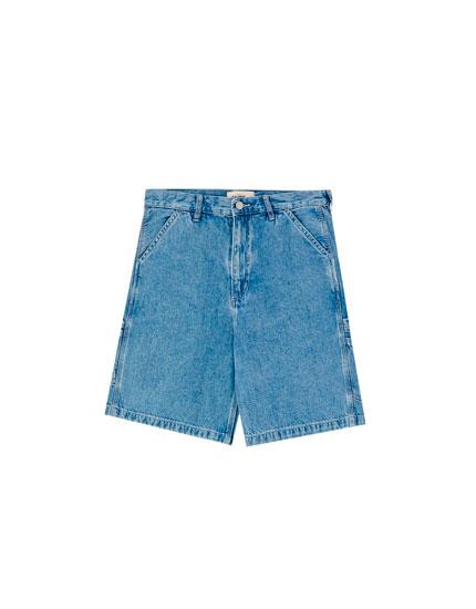 Carpenter Bermuda shorts