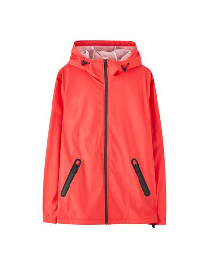 Lightweight rubberised jacket