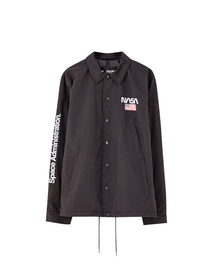 NASA logo jacket