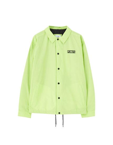 Neon Peanuts jacket
