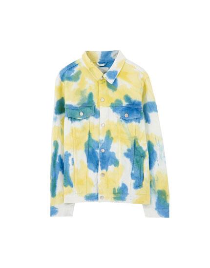 Primavera Sound x Pull&Bear tie-dye jacket