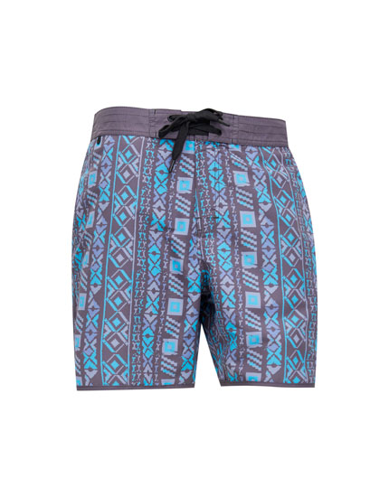 Printed board shorts