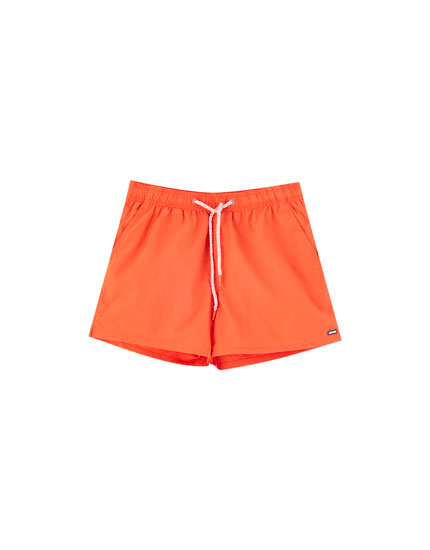 Basic solid board shorts