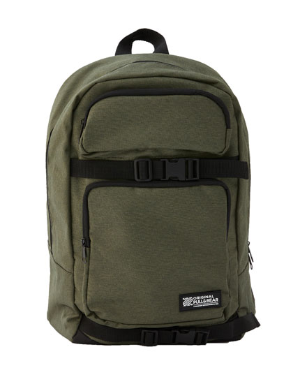 Khaki skater backpack