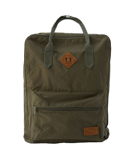 Basic backpack with handles