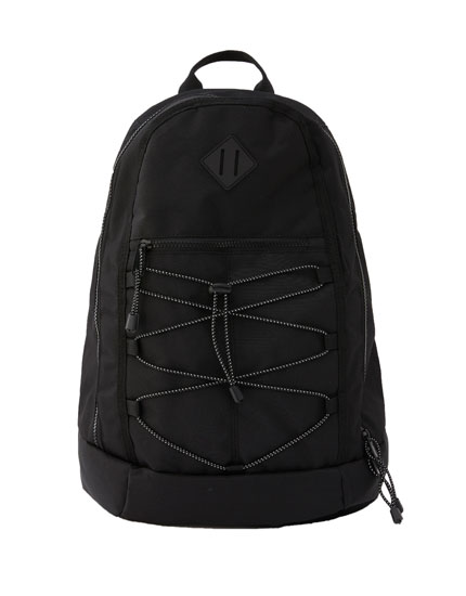 Shock cord mountain backpack