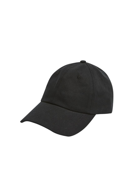 Boné básico preto