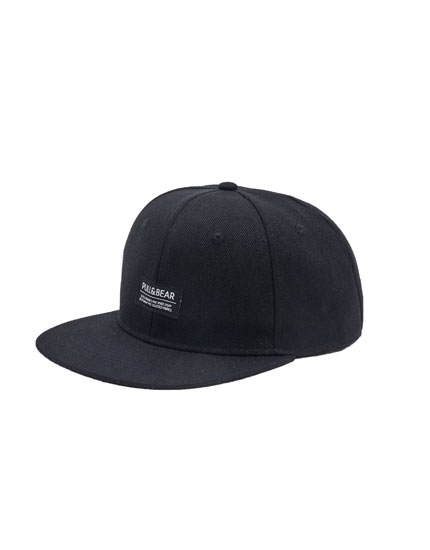Gorra logo negra