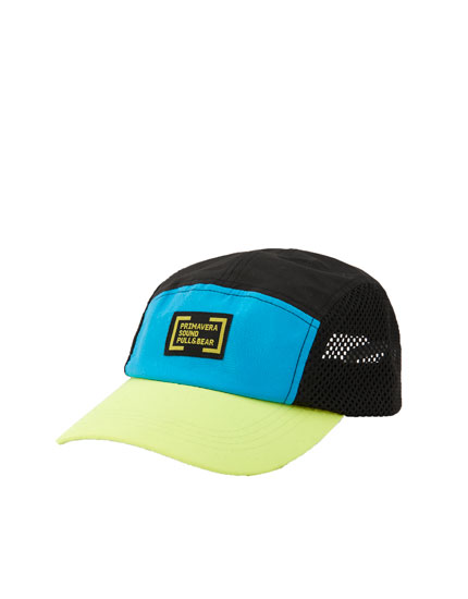 Primavera Sound colour block cap