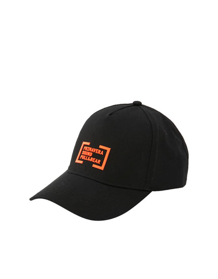 Primavera Sound orange logo cap