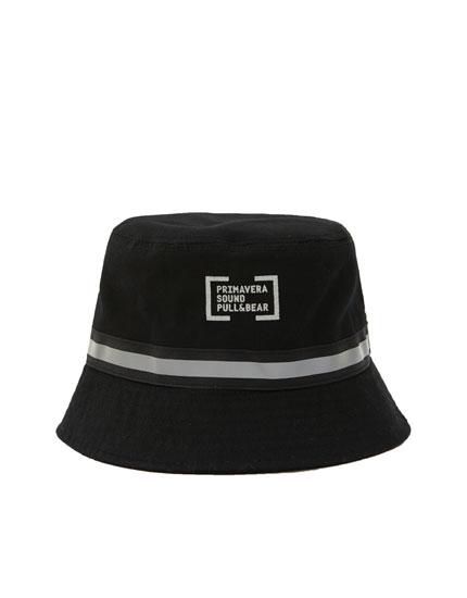 Primavera Sound black bucket hat