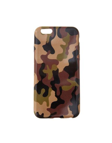Coque smartphone camouflage