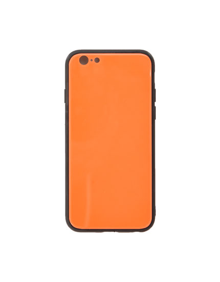 Neon orange phone case